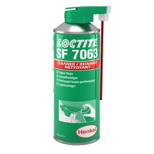 2098749 Loctite 7063  Быстроиспаряющийся очиститель-обезжириватель, спрей 400 мл