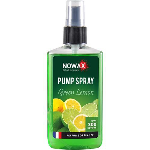 Ароматизатор NOWAX PUMP SPRAY Green Lemon 75ml